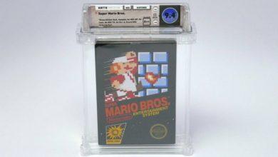 Photo of بيع نسخة من لعبة سوبر ماريو بـ114 ألف دولار