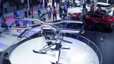 Photo of شركة صينية تستعرض أول طرازاتها للسيارات الطائرة