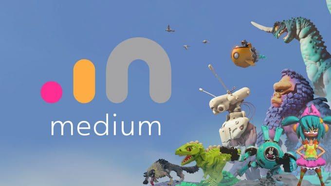 Photo of فيس بوك باعت منصة Oculus Medium لشركة أدوبي