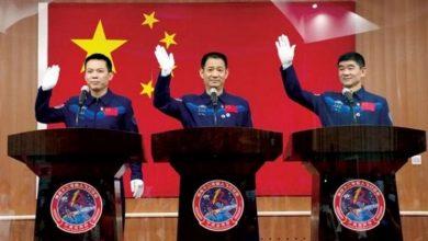 Photo of الصين ترسل أول طاقم بشري إلى محطتها الفضائية الجديدة