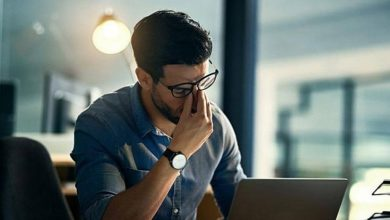 Photo of العمل عن بعد يسبب متلازمة رؤية الكمبيوتر