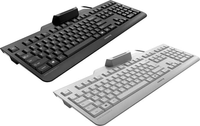Photo of شركة Cherry تطلق لوحة مفاتيح للحاسب الآلى ضد برامج التجسس