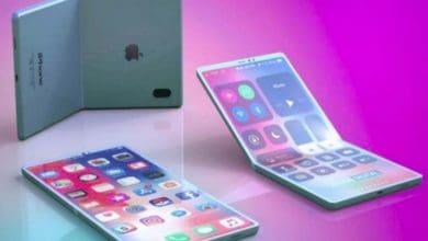 Photo of Apple تسعى لإطلاق جهاز قابل للطي